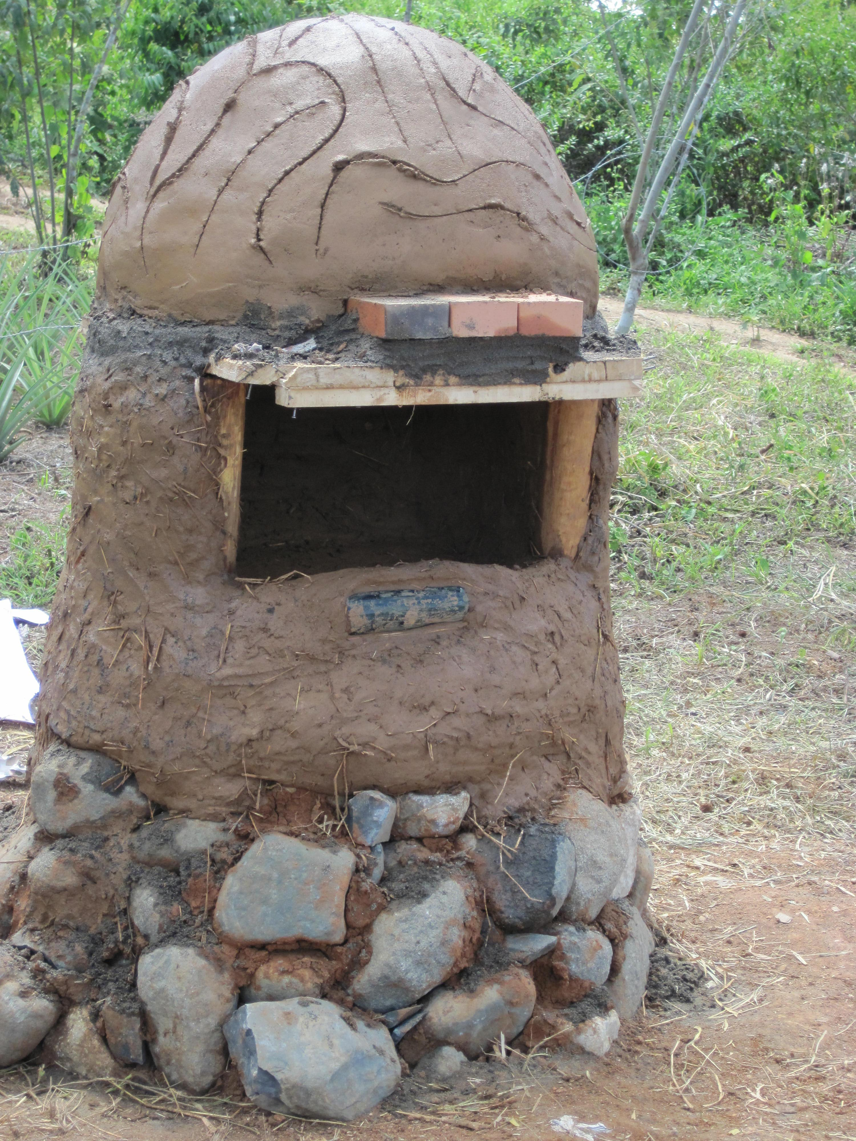 Cob Oven Pictured Above